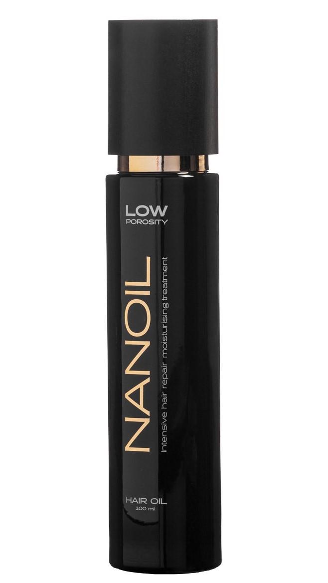 Olejek do włosów Nanoil - najlepszy kosmetyk odnawiający włosy